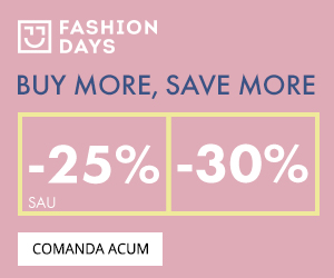 Campanie de reduceri Buy more, Save more - 25% sau 30% reducere la articolele pentru femei