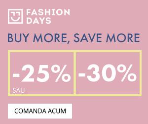 Campanie de reduceri Buy more, Save more - 25% sau 30% reducere la articolele pentru barbati