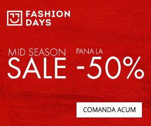 Campanie de reduceri Mid Season Sale - reduceri de pana la 50%