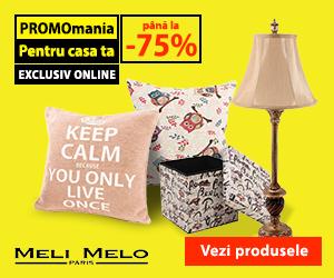 Campanie de reduceri Deco Promo - până la -75%