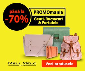 Campanie de reduceri Genti, Rucsacuri, Portofele pana la -70%