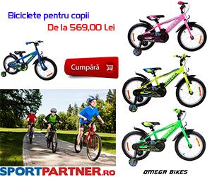 Campanie de reduceri Campanie Biciclete copii