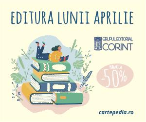 Campanie de reduceri Editura lunii aprilie cu reduceri de până la 50%