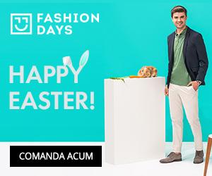 Campanie de reduceri Happy Easter - reduceri la articolele pentru barbati