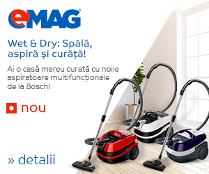 Campanie de reduceri Aspiratoare multifunctionale Bosch - NOU