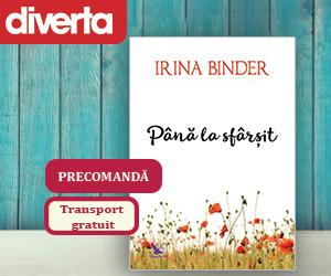 Campanie de reduceri Precomanda Până la sfârșit - Irina Binder