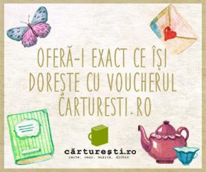 Campanie de reduceri Voucher carturesti.ro (versiunea 2)