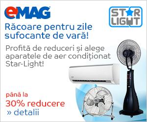 Campanie de reduceri Pana la 30% reducere la aparatele de aer conditionat Star-Light