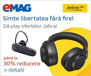 Campanie de reduceri Campanie accesorii Jabra