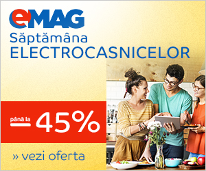 Campanie de reduceri Saptamana ELectrocasnicelor - 20-26 mai 2019