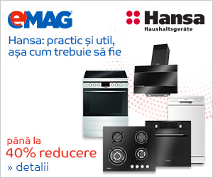 Campanie de reduceri Pana la 40% reducere la electrocasnicele Hansa