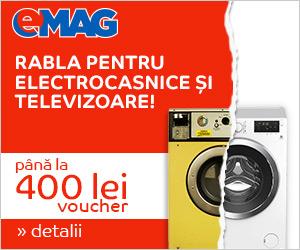 Campanie de reduceri Rabla pentru electrocasnice si televizoare