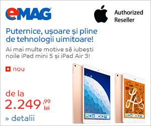 Campanie de reduceri Campanie iPad mini 5 & iPad Air 3