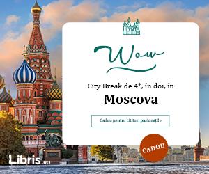 Campanie de reduceri City Break de 4* in Moscova. Cadou pentru cititori pasionati!