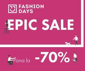 Campanie de reduceri Epic Sale - pana la -70%