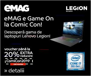 Campanie de reduceri [IT] COOP Comic Con Laptopuri Lenovo cu procesor Intel 20-26 mai 2019