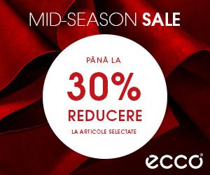 Campanie de reduceri Reducere de -30% doar până la finalul zilei la toata colecția de Primăvară - Vară 2019