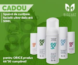 Campanie de reduceri PROMOTIE COSMETICE BIO FOR MEN 1+1 CADOU GRATIS!