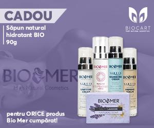 Campanie de reduceri Promotie produse cosmetice profesionale Biomer 1+ 1 CADOU Gratis!