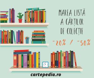Campanie de reduceri Marea listă a cărților de colecție