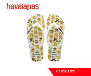 Campanie de reduceri Slapii Havaianas