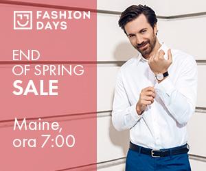 Campanie de reduceri Teasing End of Spring Sale (barbati)