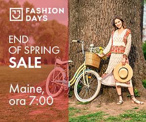 Campanie de reduceri Teasing End of Spring Sale (femei)