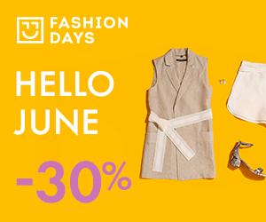 Campanie de reduceri Hello June - 30% OFF la articolele pentru femei