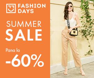 Campanie de reduceri Summer Sale - Reduceri de pana la 60% la articolele pentru femei
