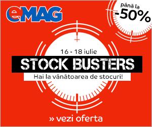 Campanie de reduceri Stock Busters iulie 2019
