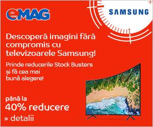 Campanie de reduceri Campanie Stock Busters - Televizoare Samsung