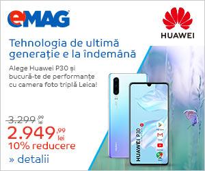 Campanie de reduceri Campanie Huawei P30