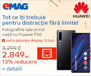 Campanie de reduceri Campanie Huawei P30 Entertainment Days