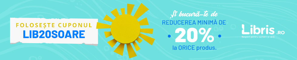 Campanie de reduceri Doar azi! Cupon -20% la ORICE + Transport GRATUIT la peste 50 lei!