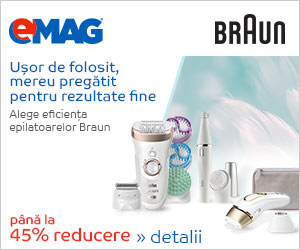Campanie de reduceri Braun 45% reducere la epilatoare