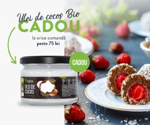 Campanie de reduceri CADOU Ulei de cocos Bio Niavis
