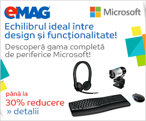 Campanie de reduceri Periferice Microsoft, 05- 12.08.2019
