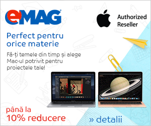 Campanie de reduceri Campanie Apple BTS pe laptopuri Macbook, 26.08- 01.09.2019