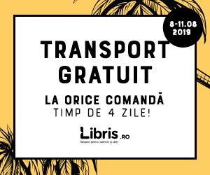 Campanie de reduceri Transport Gratuit pentru 4 zile! Testeaza teoria #CartiCuSPF!