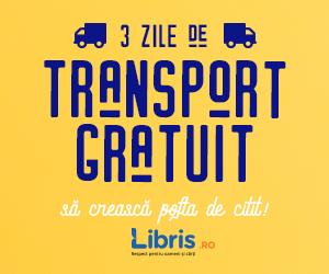 Campanie de reduceri Transport GRATUIT, sa creasca pofta de citit!