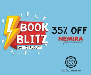 Campanie de reduceri Book Blitz: 3 zile cu 35% OFF la toate cartile Nemira