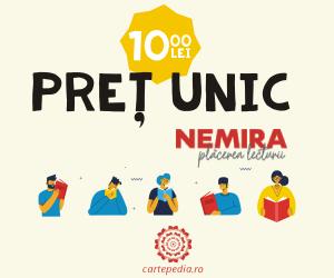 Campanie de reduceri Pret unic 10 lei la 100 de titluri Nemira