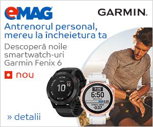 Campanie de reduceri Campanie Smartwatch Garmin Fenix 6, NOU