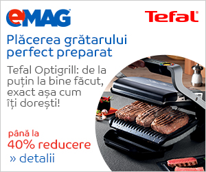 Campanie de reduceri Tefal Optigrill - 23-29 septembrie
