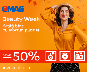 Campanie de reduceri Beauty Week septembrie 2019