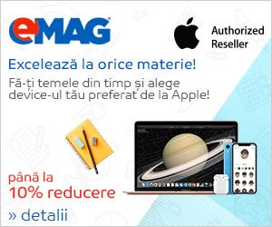 Campanie de reduceri Campanie Apple Back to school- valul 2