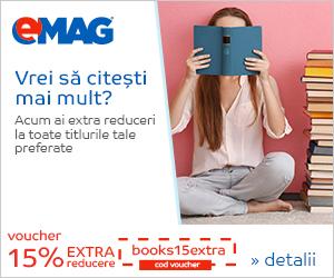 Campanie de reduceri Voucher 15% extra reducere Books, 11- 13.09.2019
