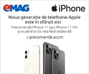 Campanie de reduceri Campanie precomanda iPhone 11