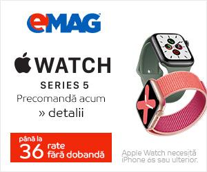 Campanie de reduceri Campanie precomanda Apple Watch