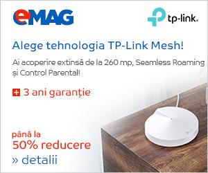 Campanie de reduceri Sisteme Mesh Deco Mesh TP-Link, 25.09- 09.10.2019